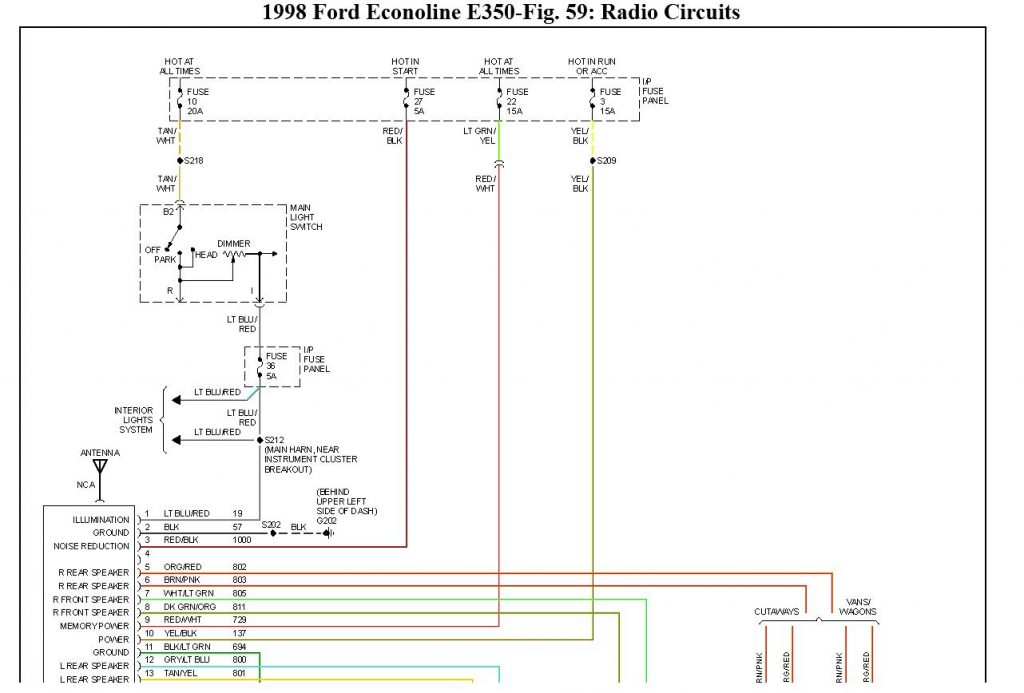 Ford E350 Wiring Diagram Wirings Diagram