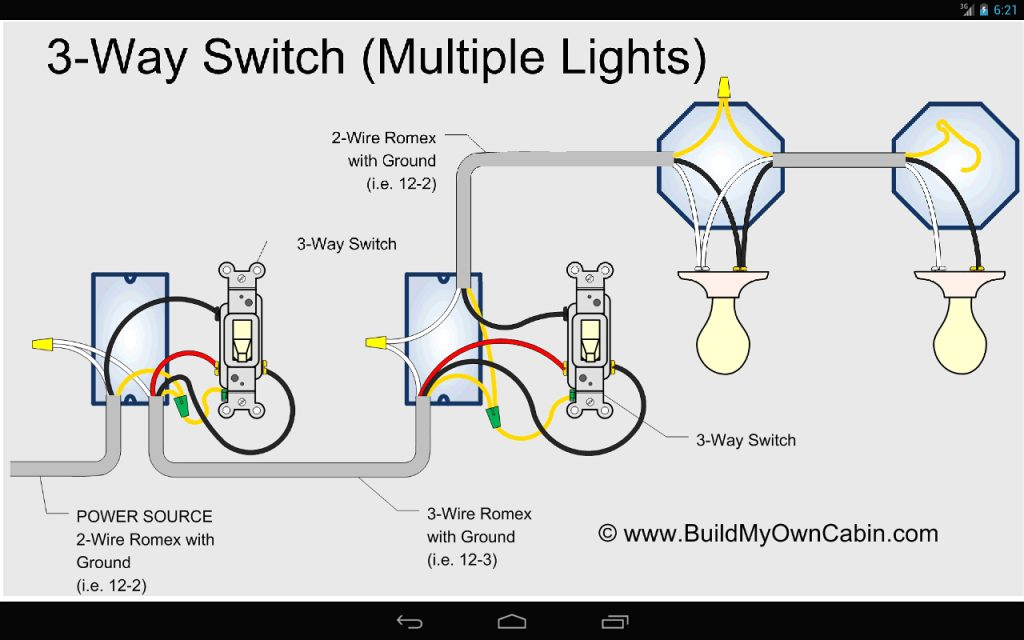 3 Way Switch Wiring Diagram Power At Switch Wirings Diagram