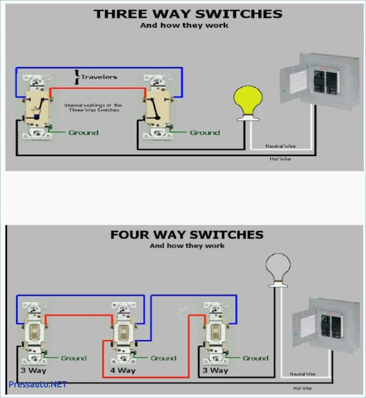 3 way switch wiring diagram multiple lights Wirings Diagram