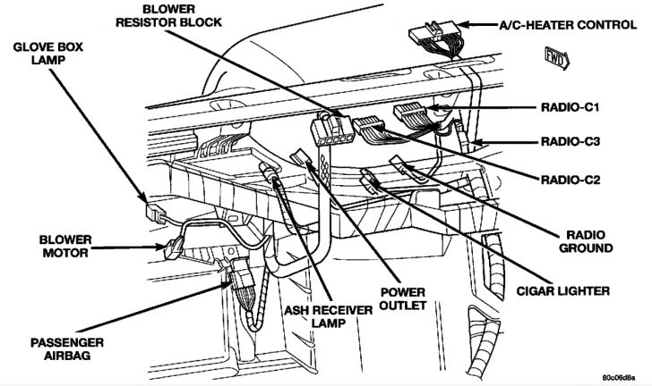 2002 dodge dakota heater wiring diagram Wirings Diagram