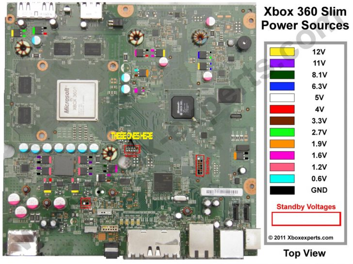 Xbox 360 Power Supply Wiring Diagram Wirings Diagram
