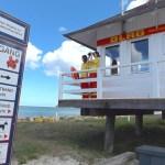 hv Rettungsturm an der Seebruecke Binz