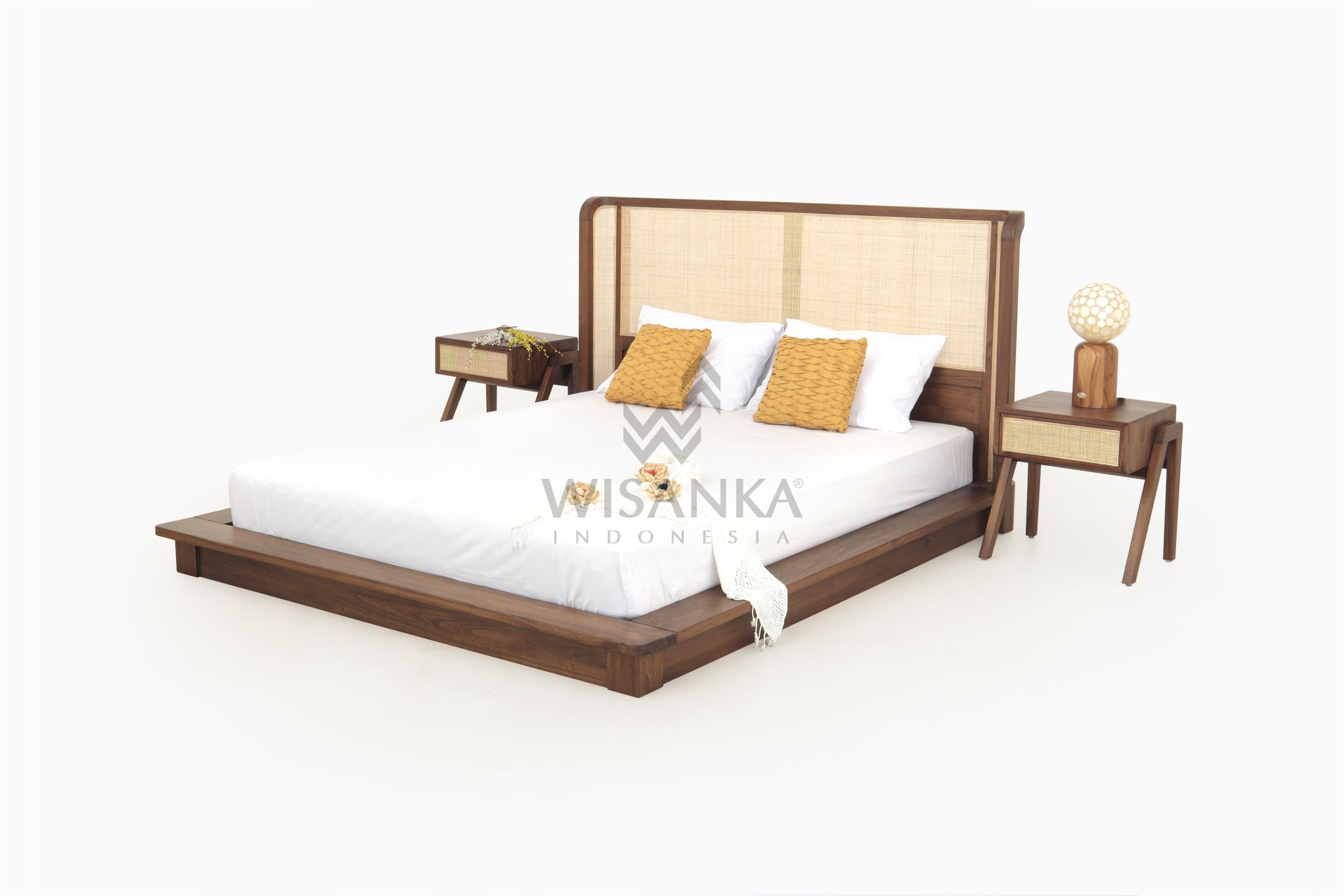 Oksana Bed Set Indonesia Teak Java Furniture Manufacturer