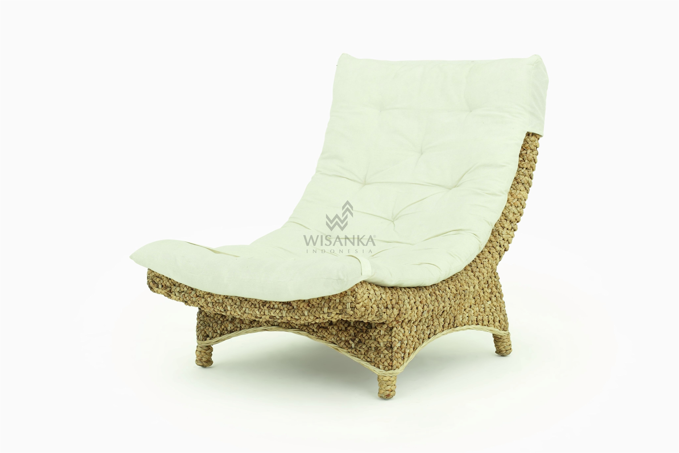 Moon Wicker Lazy Chair Indonesia Teak Java Furniture Manufacturer Project And Wholesale