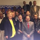 Hillary Clinton at Gay Men's Health Crisis. — PHOTO: Courtesy