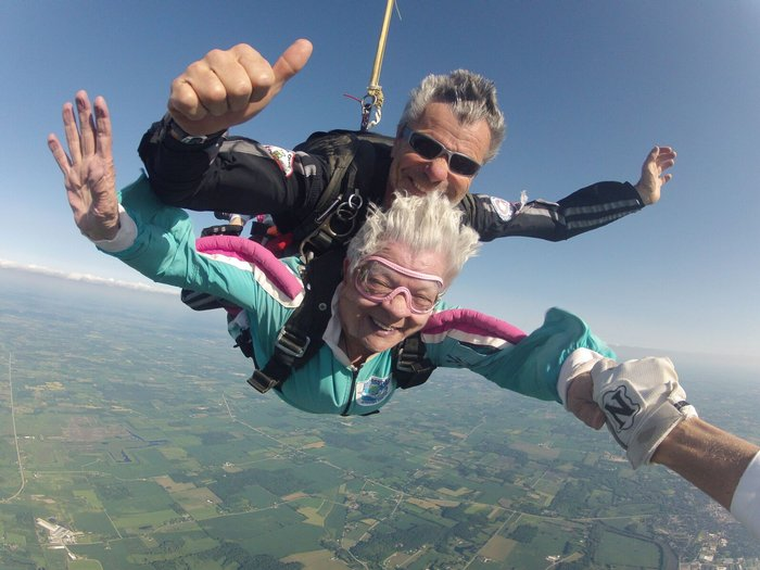 Skydiving Age Limit Can You Be Too Old WIsconsin Skydiving Center
