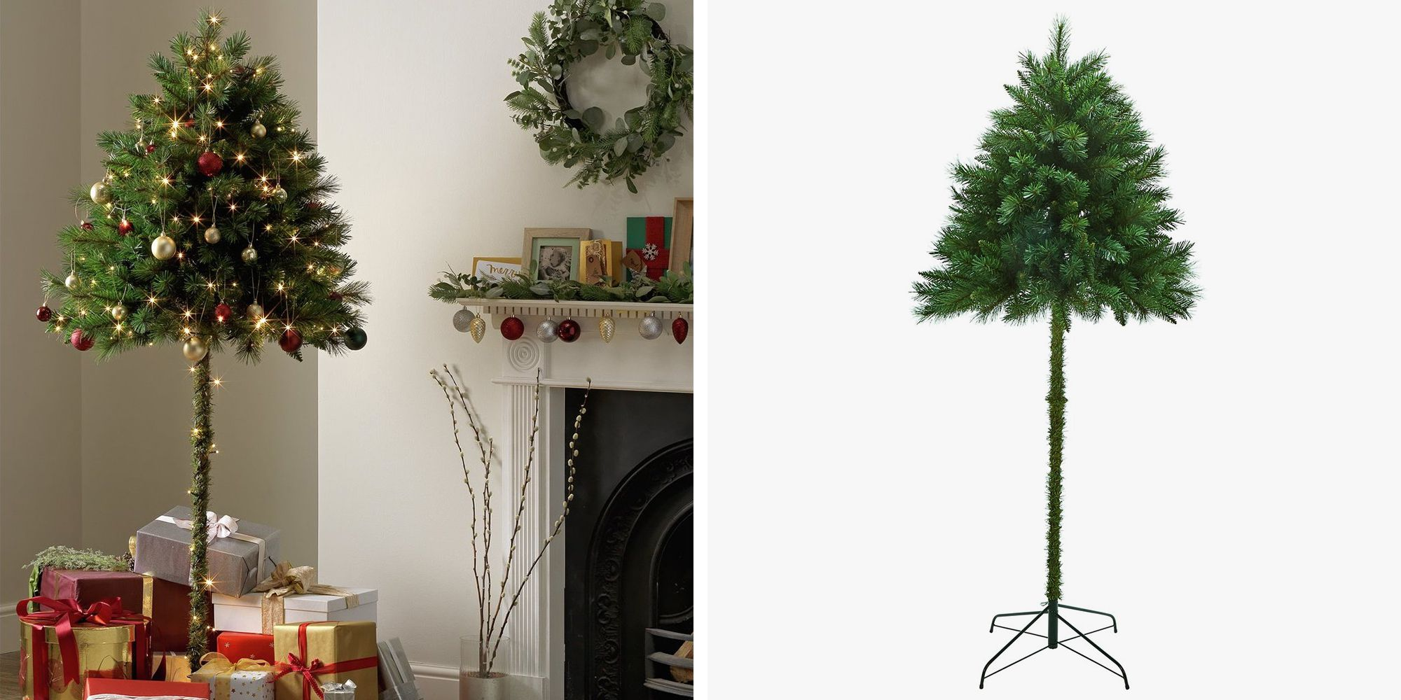 Christmas Tree Stand For Sale The Half Christmas Tree May Save You This Christmas 107 3 The Beat