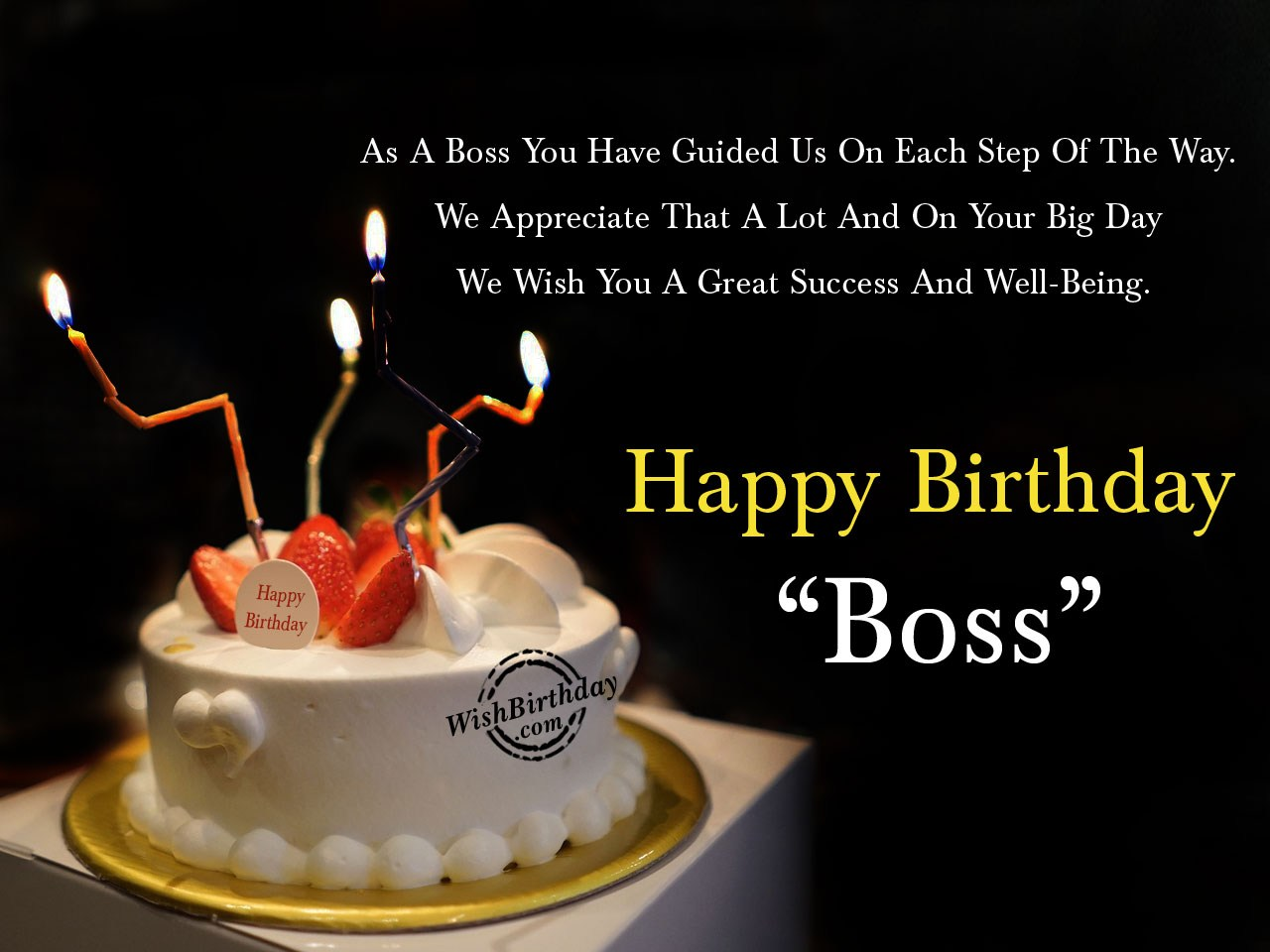 Birthday Greetings To Boss Birthday Wishes For Boss - Birthday Images, Pictures