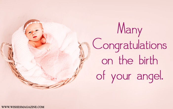 Congratulations Wishes For Baby Girl - Wishes Magazine