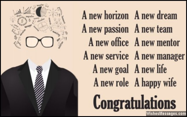 Congratulations for new job New job poems \u2013 WishesMessages