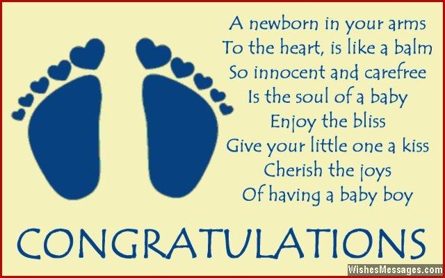 Congratulations for baby boy Poems for newborn baby boy \u2013 Page 3