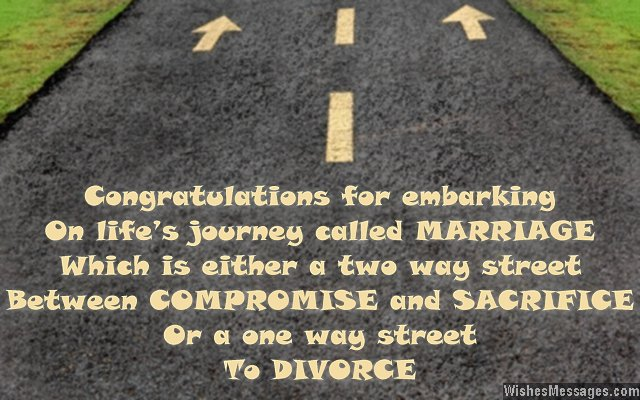 Funny Wedding Card Messages Congratulations For Wedding - congratulations for or on