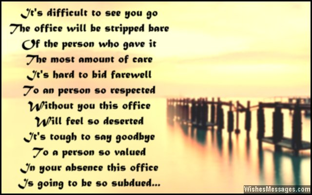 Co Worker Good Bye Quotes