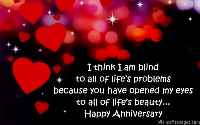 Cute Ayes Of Him And Her Wallpaper Anniversary Wishes For Wife Quotes And Messages For Her