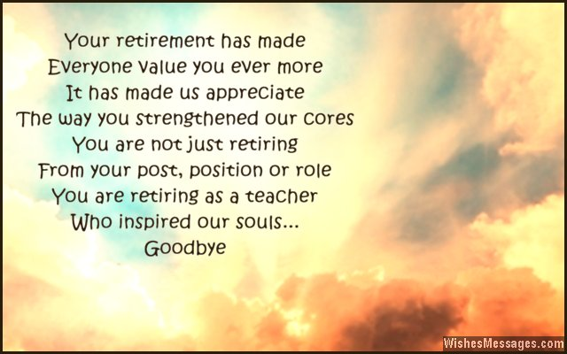 Retirement Wishes Best Retirement Wishes for Colleagues - police resume examples