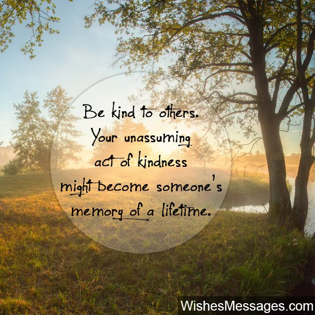 Kindness Quotes and Notes Thank You for Being So Kind