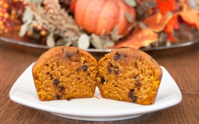 Pumpkin Chocolate Chip Muffins | Wishesand Dishes