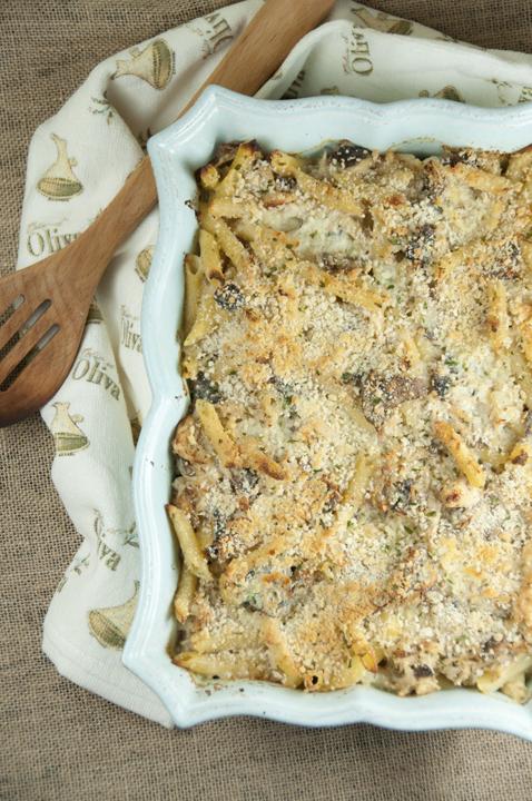 Paleo Cheesy and Creamy Chicken Tetrazzini