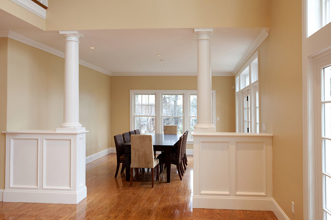 Dining Room Columns