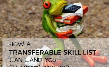 TRANSFERABLE SKILL LIST