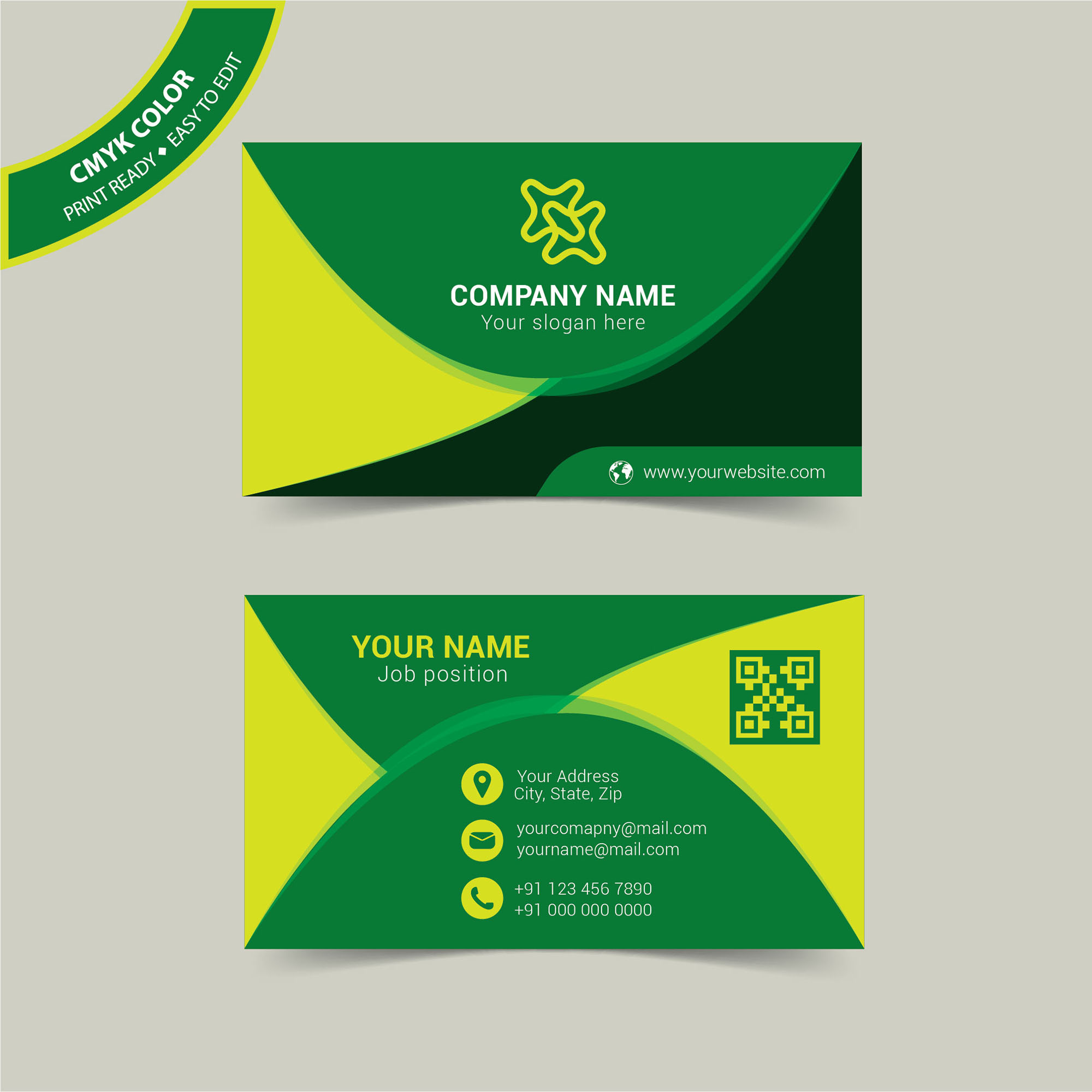 Fullsize Of Personal Business Cards