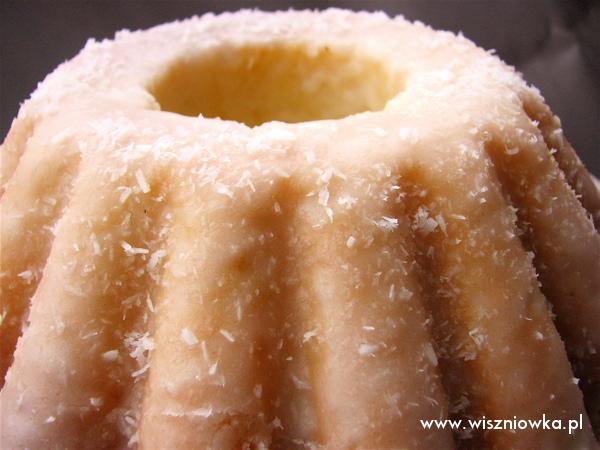 Śnieżna babka kokosowo-cytrynowa