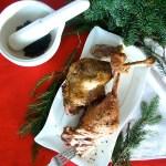 Gęsie udka pieczone w piwie – pomysł na świąteczny obiad