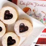 Ciasteczka z wiśniową konfiturą Cecylki Knedelek