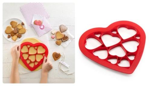 forma do wykrawania ciasteczek w serduszka
