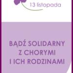 13 listopada – Ogólnopolski Dzień Chorych na Raka Trzustki