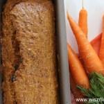 Ciasto bez cukru: Chlebek marchewkowy z olejem rzepakowym