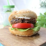 Dietetyczne burgery z fasoli i soczewicy