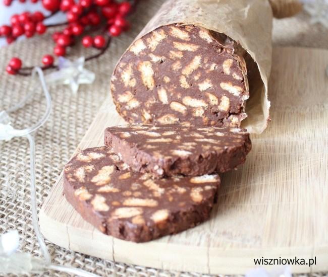 salami czekoladowe