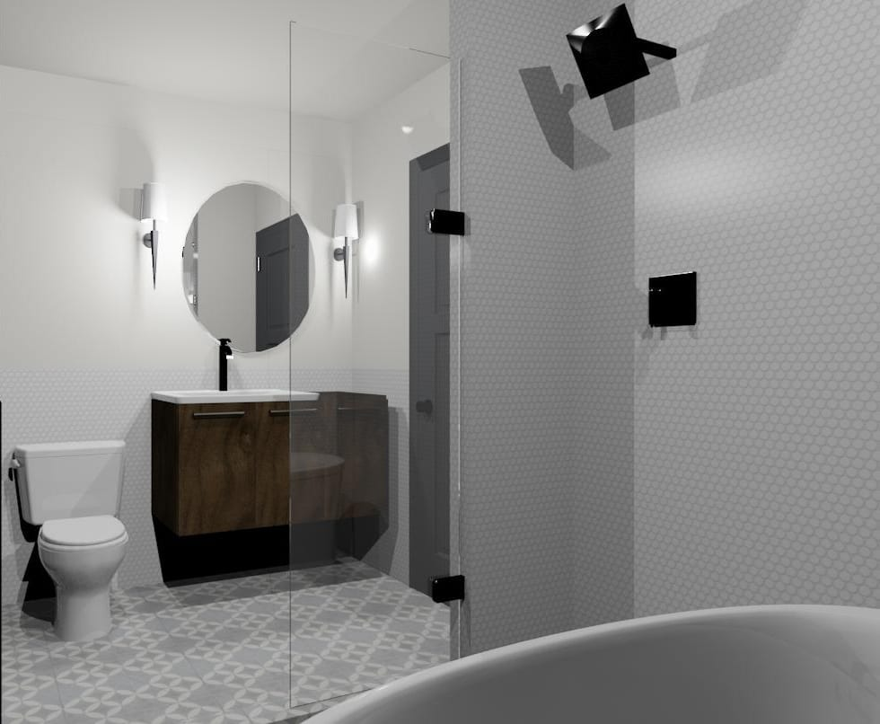 Badkamer Reno W D Renovates Upstairs Bathroom Makeover Wit Delight