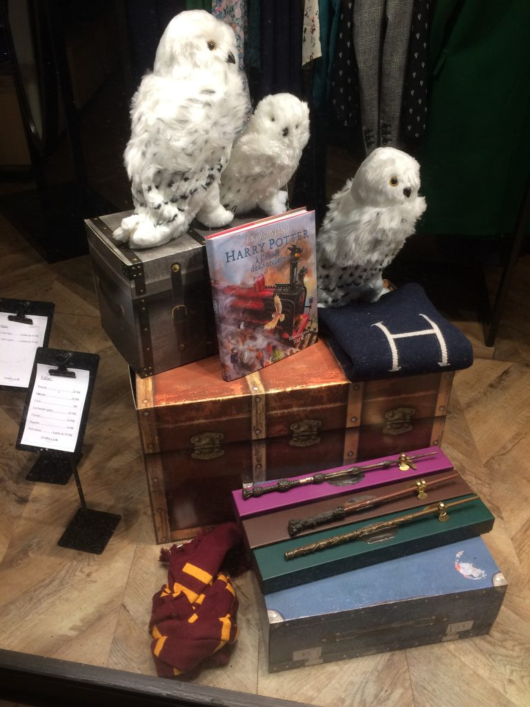 Peluche Hedwige Cyrillus Lance Sa Collection Harry Potter Witchimimi