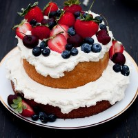Three Cheers For Berry Cake