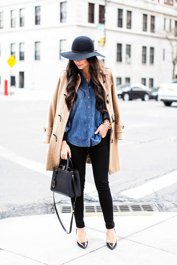 James Black Skinny Jeans, TOPSHOP Floppy Felt Hat