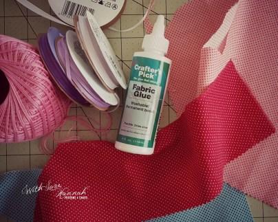 Make a mini, doll-sized bunting tutorial