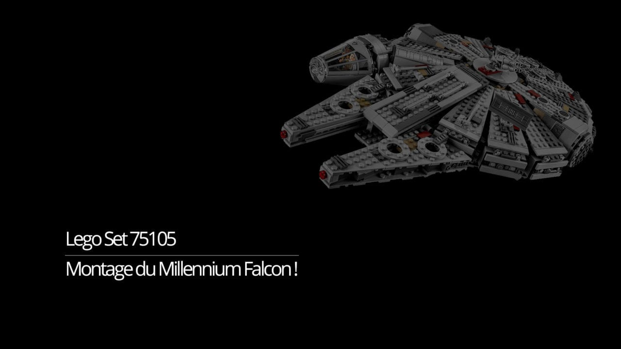 Exposer Son Millennium Falcon Lego Star Wars Star Wars Montage Du Millennium Falcon Lego Star Wars With My Player 2