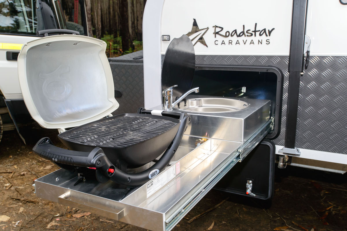 Caravan With Slide Out Kitchen Best Accessories For Your Caravan Or Camper Without A