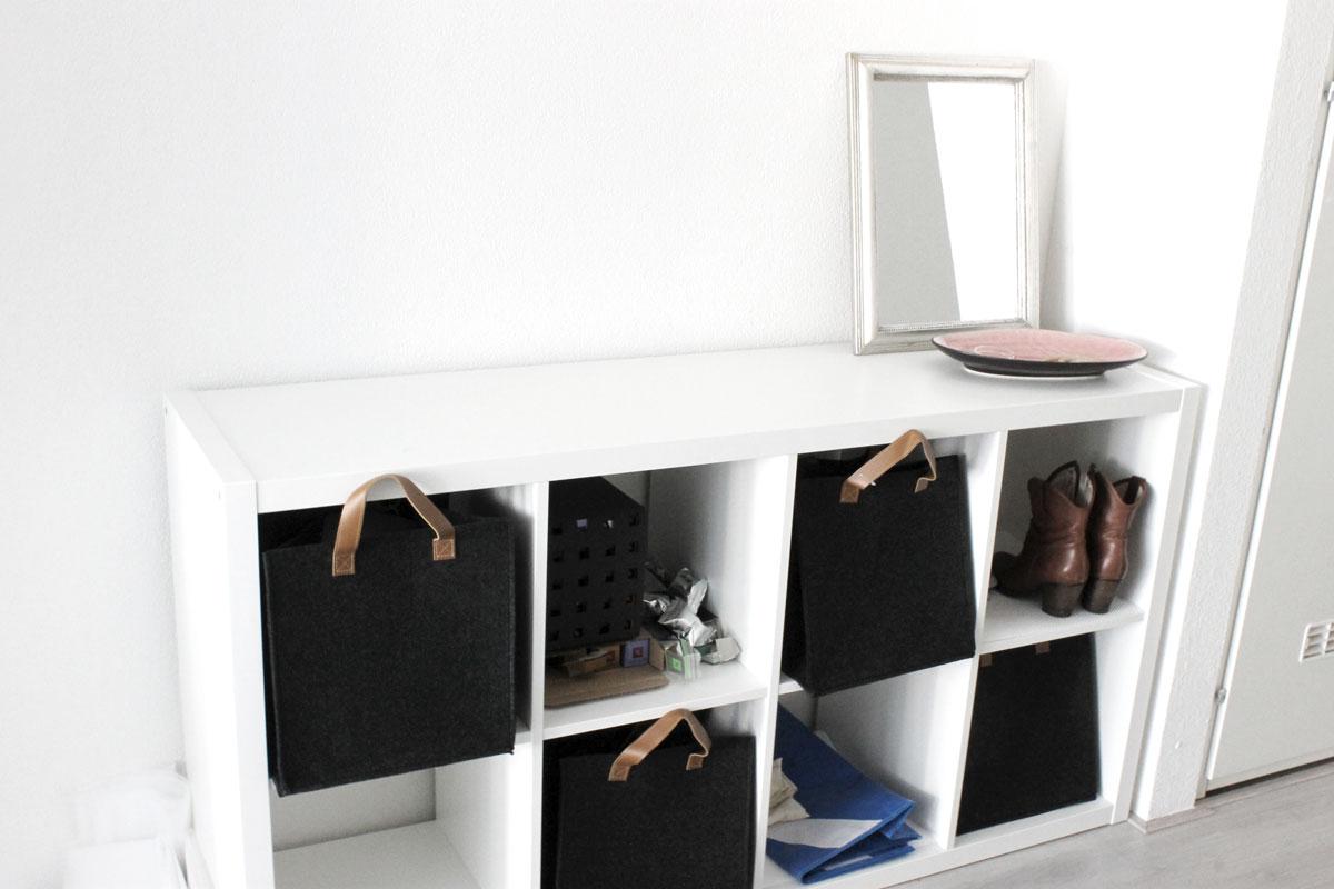 Kast Met Mandjes : Ikea kast met manden weg met kaders glam at heart ikea belgium