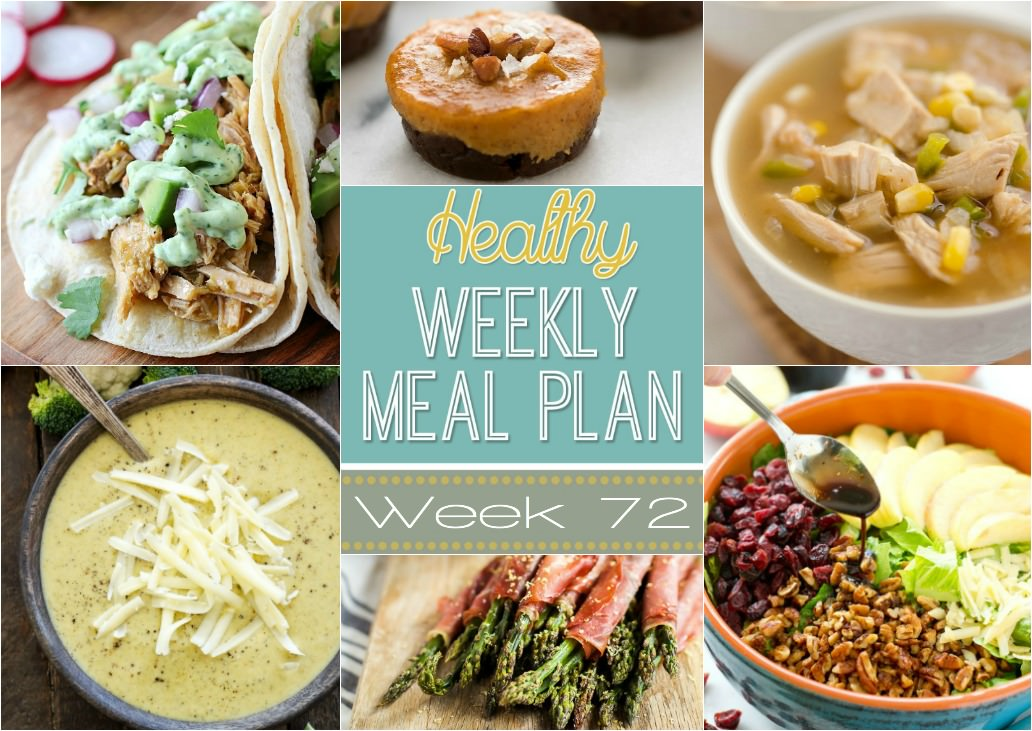 Healthy Meal Plan Week #72 - With Salt and Wit