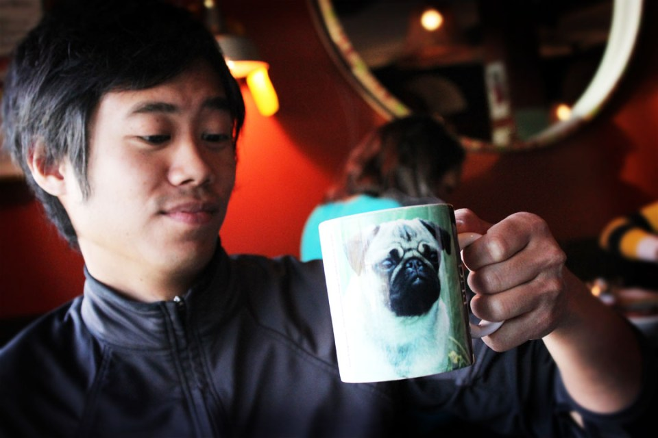 Sabrina's Cafe: Phil and Pug