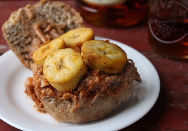 Pulled Pork and Plantains