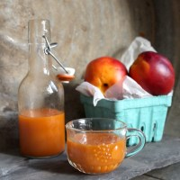 Juice of the Week: Carrot Nectarine Ginger