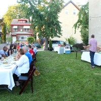 a pop UP dinner with e2