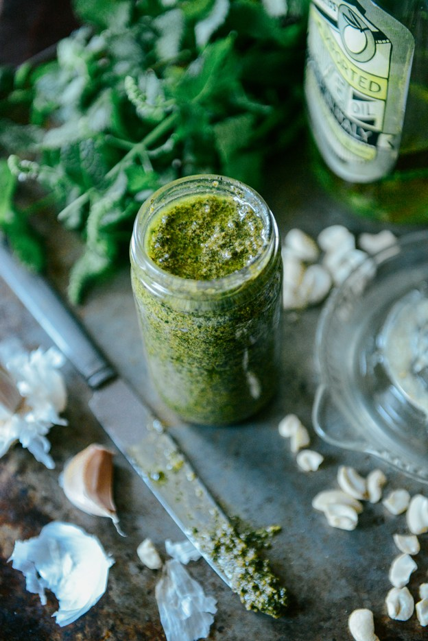 Mint Pesto by With The Grains 01