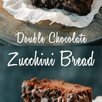 Whole Wheat Double Chocolate Zucchini Bread