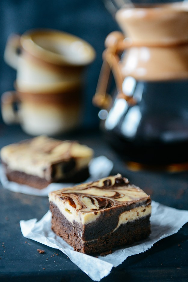 Self Filled Brownie Bars by With The Grains 06