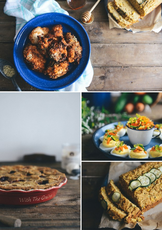 A Southern Inspired Menu // www.WithTheGrains.com